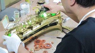 ユーフォニアム修理 管楽器修理